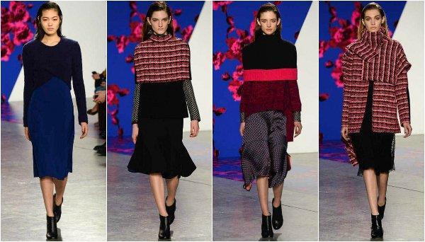 New York Fashion Week осень-зима 2014-2015