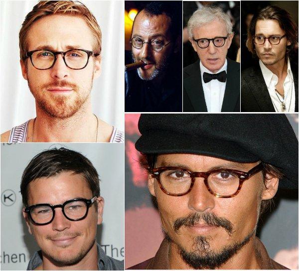 Модные роговые очки