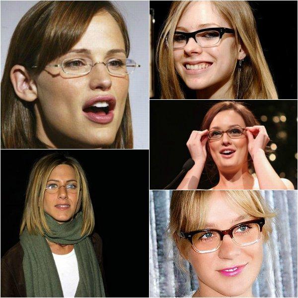 очки формы фото