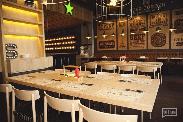 Новое заведение: настоящие бургеры в стиле loft - Star Burger