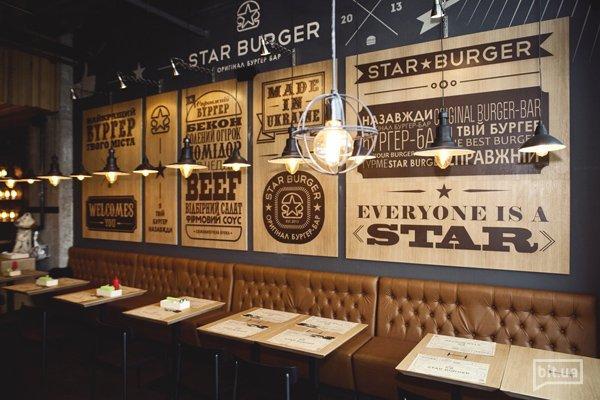 Новое заведение: настоящие бургеры в стиле loft — Star Burger