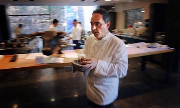 10 цитат Феррана Адриа о кухне успешного ресторана
