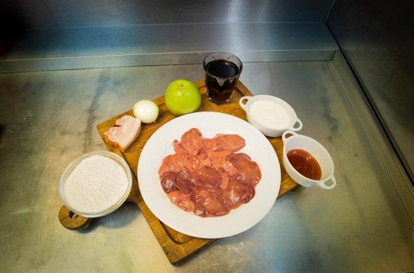 Рецепты от шефа: мужественные потроха к 23 февраля - куриная печень под соусом бешамель