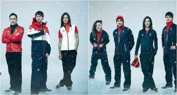 Форма сборных разных стран на Олимпиаде 2014