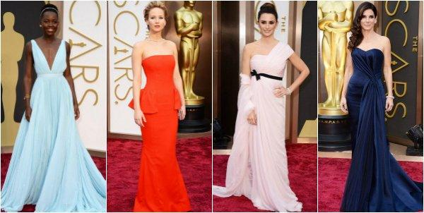 Лучшие образы с красной дорожки церемонии Оскар-2014