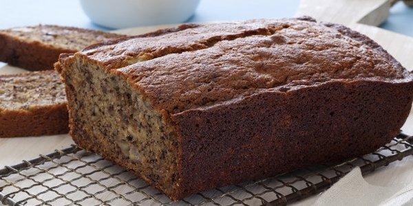 Полезные десерты: нежный банановый хлеб