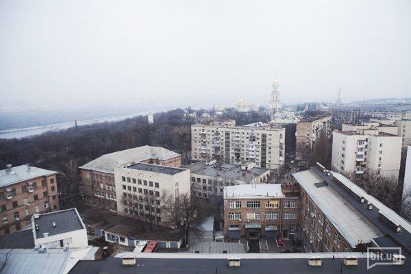 Вид из окна офиса Hromadske TV