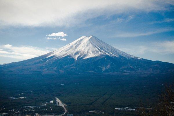 Символ Японии – гора Фуджи
