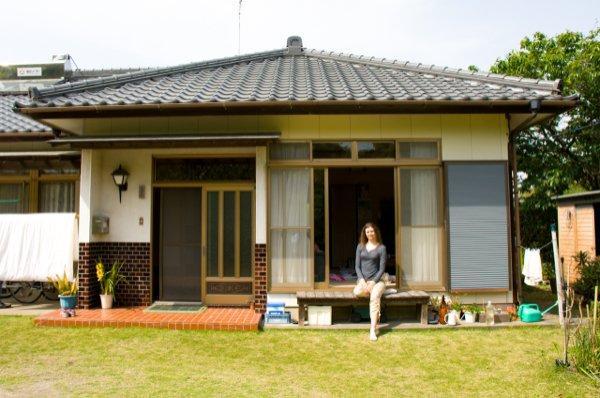 Традиционный японский дом в префектуре Чиба