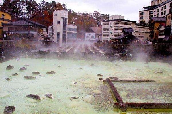 Кусацу Онсен, регион Канто