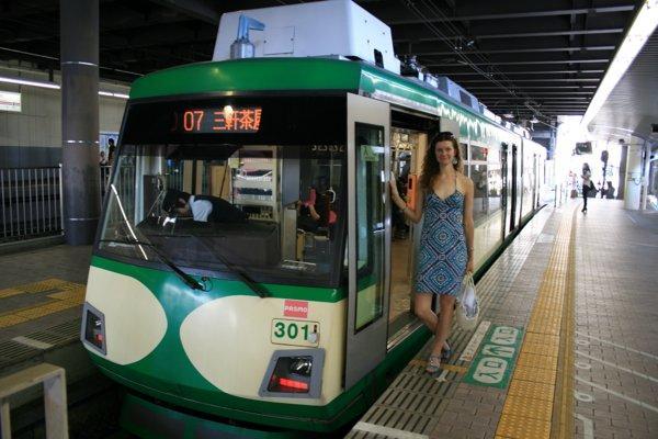 Одна из линий Токийского метро