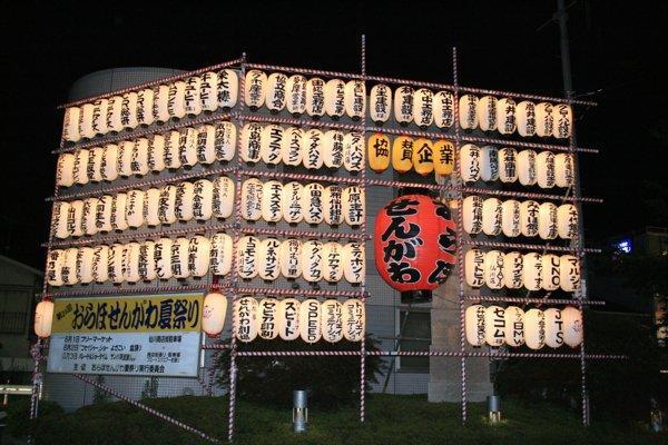 Праздничные фонарики с надписями