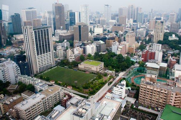 Бизнес-район Токио