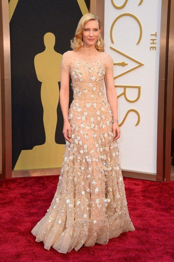 Кейт Бланшетт в платье Armani Privé