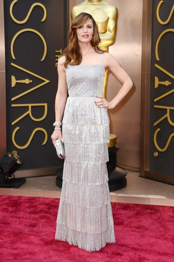 Дженнифер Гарнер в платье Oscar de la Renta