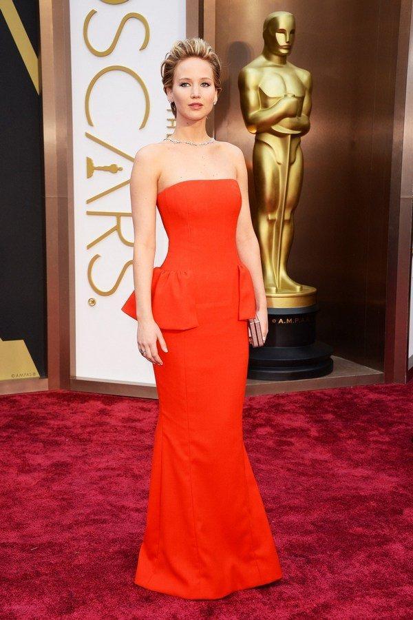 Дженнифер Лоуренс в платье Dior Couture