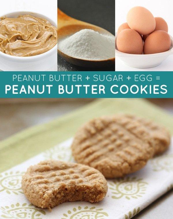 13 мгновенных рецептов с тремя ингредиентами
