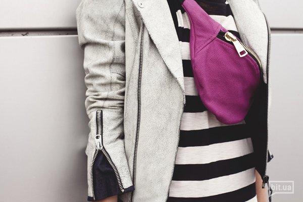 Платье G-STAR RAW — 999 грн., куртка G-STAR RAW — 6299 грн., сумка Mari Mir — цена по запросу.