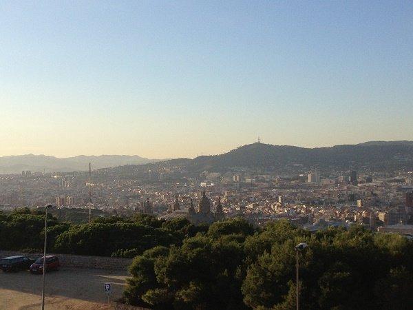 холм Montjuïc