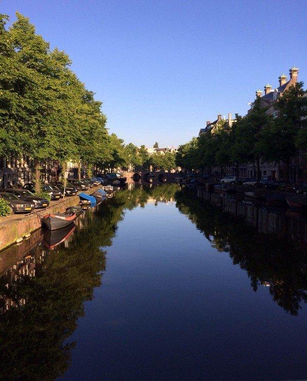 Амстердам, канал