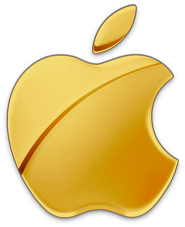 Gold_Apple_Logo_by_RiCk_C