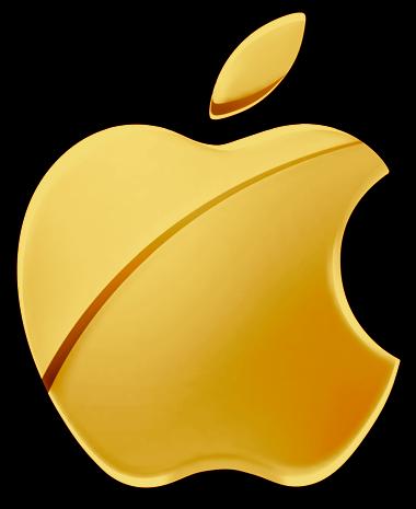 Gold_Apple_Logo_by_RiCk_C