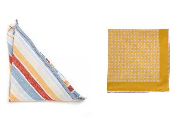 pocket square bold stripe