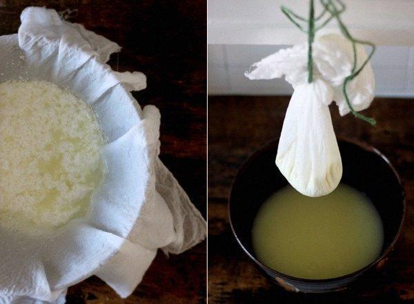 Как быстро сделать из молока творог быстро