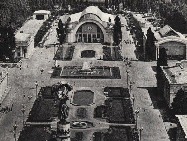 Советская ВДНХ была местом притяжения для киевлян и гостей столицы.