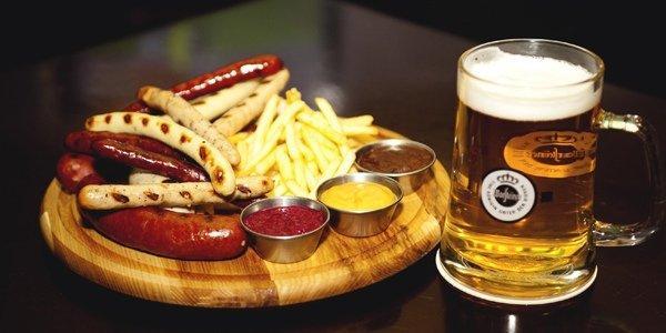 Как правильно сочетать пиво и еду