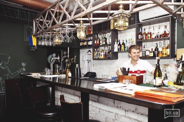 Мужское место: РестоБар с американской кухней «Инженер»