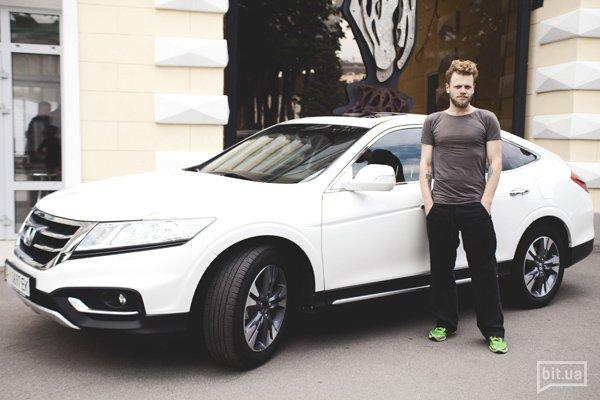 Антон Латий и Honda Crosstour