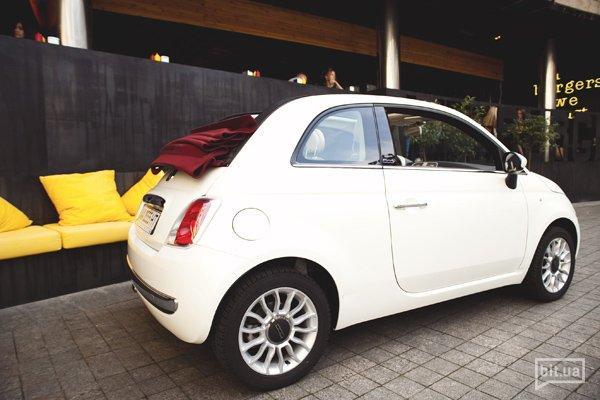 Fiat500 и Алина Косичкина