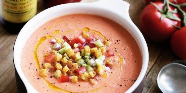 Летние супы: три рецепта гаспачо