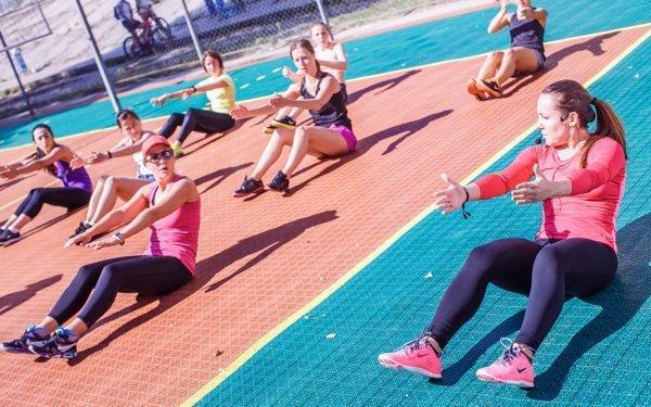 Как прошла вторая эксклюзивная открытая тренировка киевского Nike Training Club
