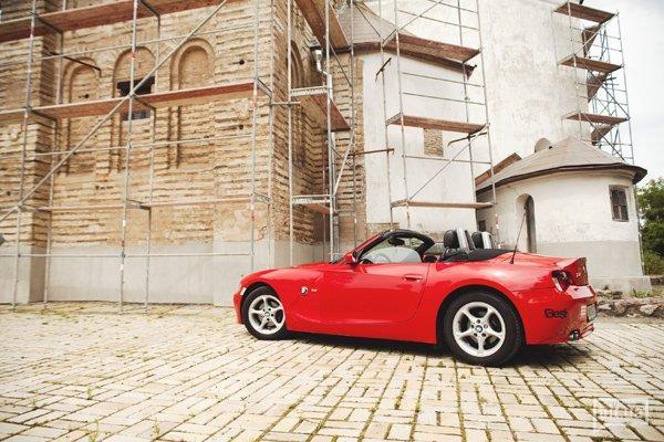 BMW z4 и Саша Титаренко