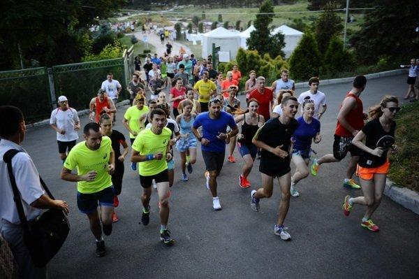 Park Party Run: Nike в Киеве представил новую модель беговых кроссовок – LunarGlide 6