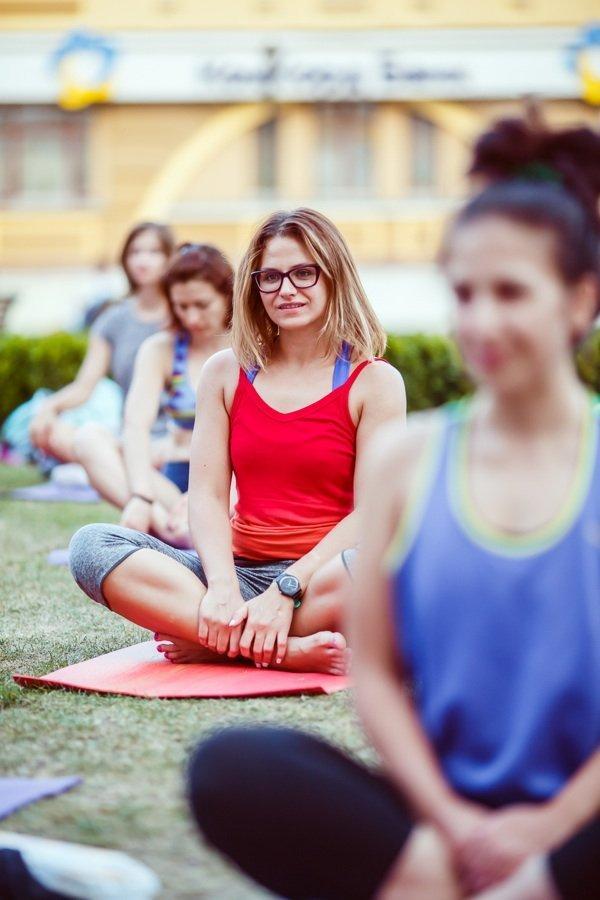 Как прошла открытая тренировка Nike Training Club: йога на Подоле (фоторепортаж)