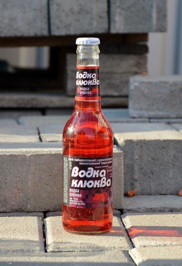 Как сделать клюковку из спирта