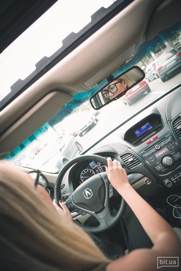 Ольга Речкина и Acura RDX