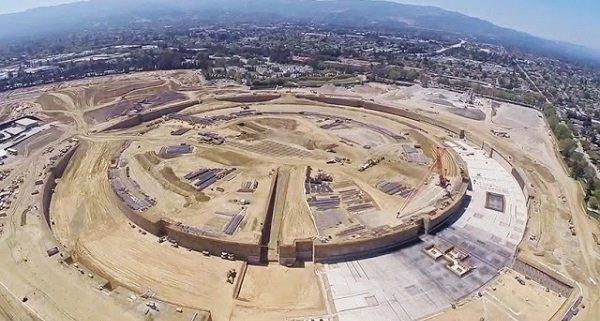 apple-campus-construction-drone-video-norman-foster-designboom-01