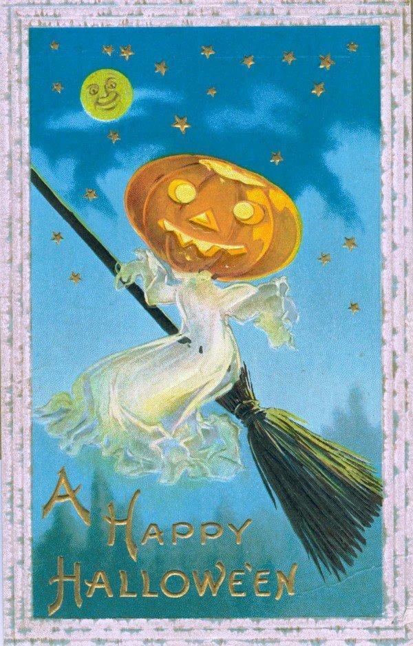 Pumpkin Headed Witch
