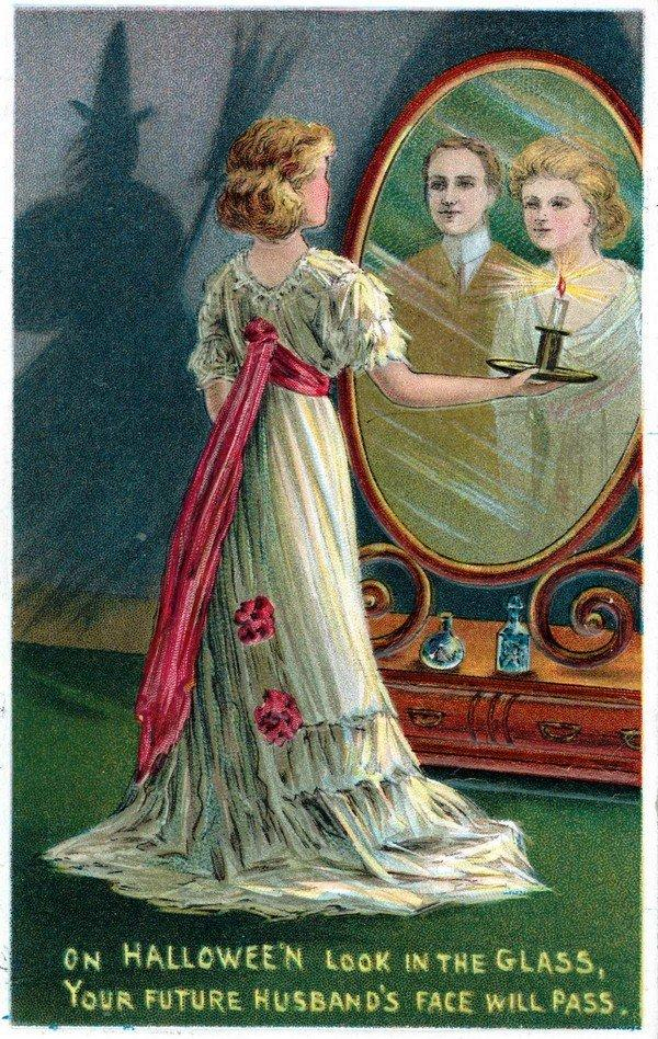 Spooky Mirror Halloween