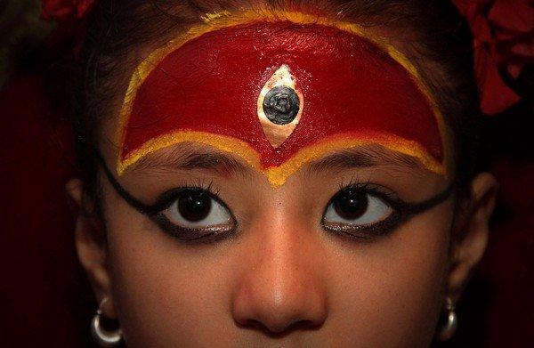 Patan City Choses New Living Goddess