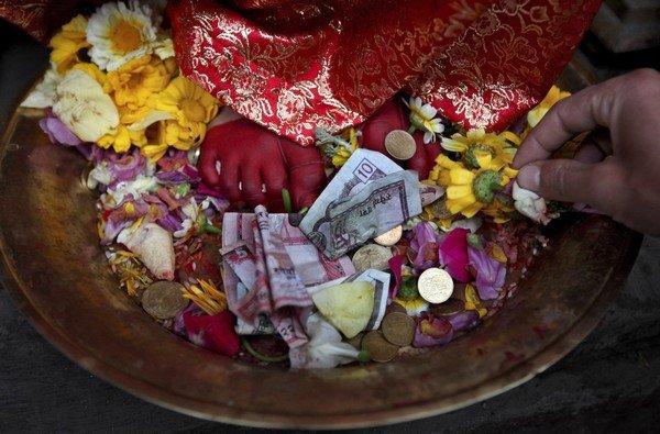 The Living Goddess of Patan
