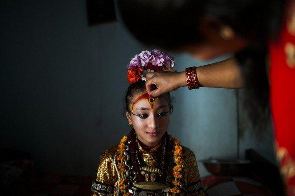 Bhoto Jatra Festival in Nepal.