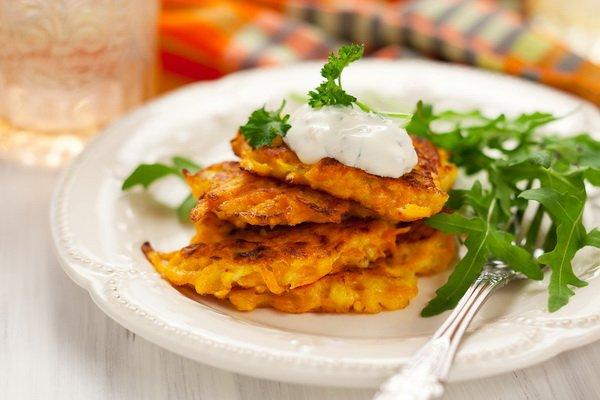 carrot-fritters