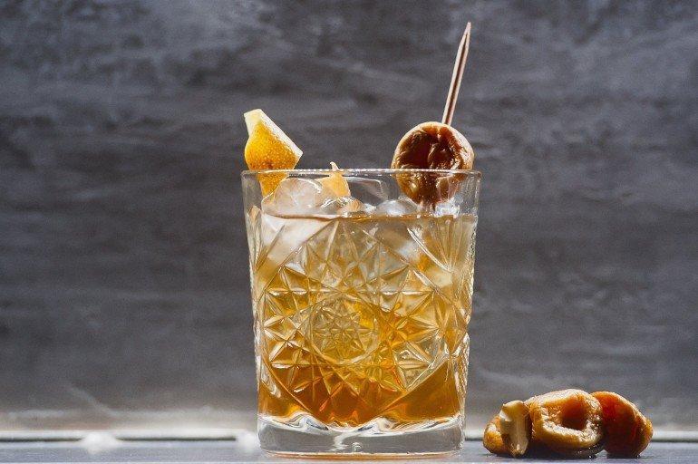 Абрикосовый Old Fashioned - 140 грн