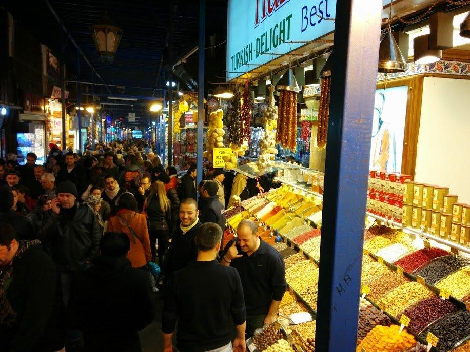 Istanbul Grand Bazaar — один