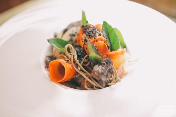 Салат с утиными сердцами в пекинском стиле - 60 грн